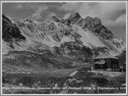 Die anscheinend erste Hütte 1931