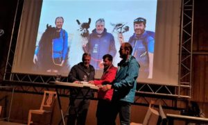 Mit drei Lamas zum Papst I Franz-Fischer-Hütte