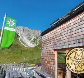 Umweltgütesiegel Franz-Fischer-Hütte